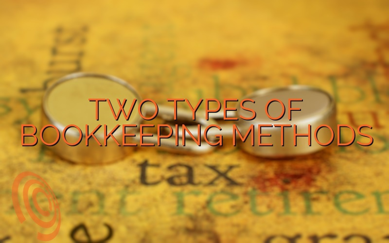 Two Types of Bookkeeping Methods